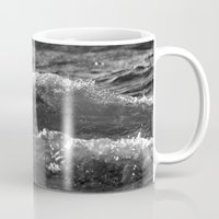 wave Mugs featuring Wave by Pure Nature Photos