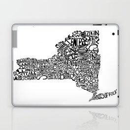 Typographic New York Laptop & iPad Skin
