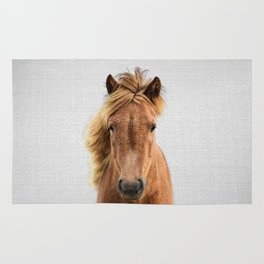 Wild Horse - Colorful Rug