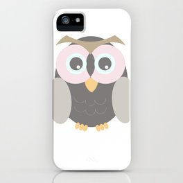 la lechuza hace shhhhhhhhhhhhh II iPhone Case