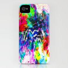 Technicolor Zebra Splatter iPhone (4, 4s) Slim Case