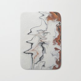 Unique Fluid Abstract Bath Mat