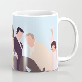 Mamma Mia Minimalist Movie Poster Coffee Mug