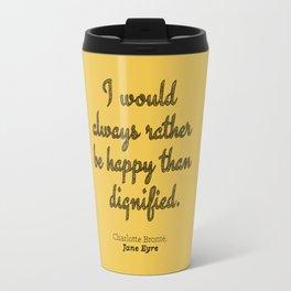Rather Be Happy Travel Mug