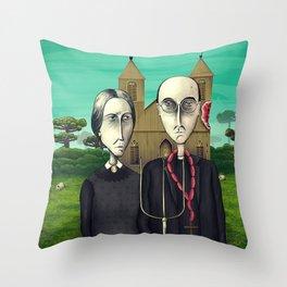 Terra de Condá Throw Pillow