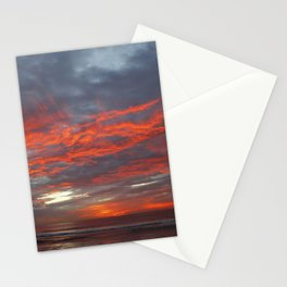 Fire Clouds Stationery Cards
