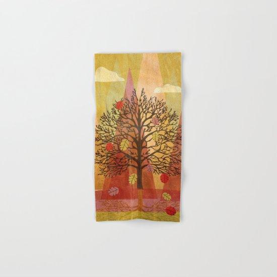 Autumn Tree Hand & Bath Towel