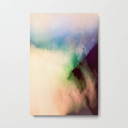 Ethereal Rainbow Clouds - Nature Photography Metal Print