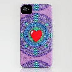 Heartbeat version Slim Case iPhone (4, 4s)