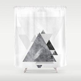 GEOMETRIC SERIES II Shower Curtain