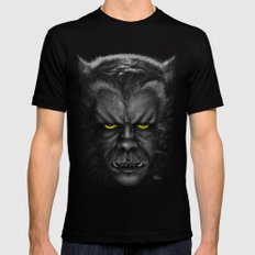 The Werewolf Curse MEDIUM Mens Fitted Tee Black