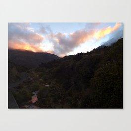 Tongariro Crossing Canvas Print