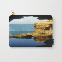 """Inside """"The Grotto"""" Looking Out! Carry-All Pouch"""