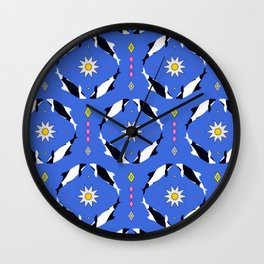 Las Toninas II Wall Clock
