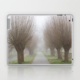 Misty willow lane Laptop & iPad Skin