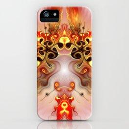 Burning Desire iPhone Case