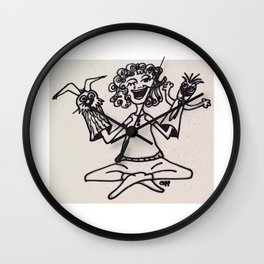 The Puppet Lady Wall Clock