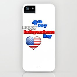 4th of July Independence Day USA iPhone Case