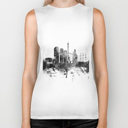 Gothenburg Sweden Skyline Biker Tank