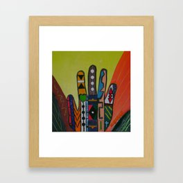 """Hands-On"" Framed Art Print"