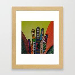 """""""Hands-On"""" Framed Art Print"""