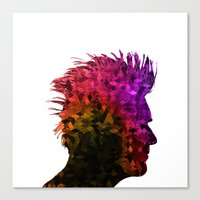 punk Canvas Prints featuring punk by KrisLeov