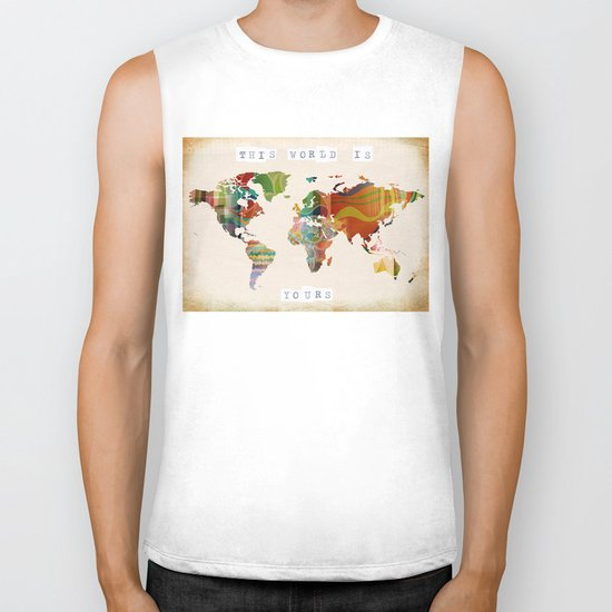 this world is yours Biker Tank