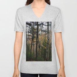 Woods 4  Unisex V-Neck