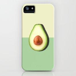 Avocado Half Slice iPhone Case