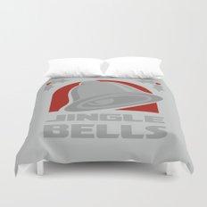 Jingle Bell - Silver Duvet Cover