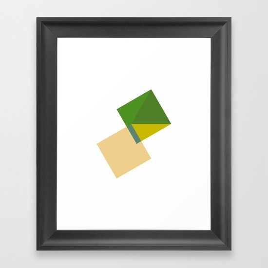 #389 Tomorrow – Geometry Daily Framed Art Print