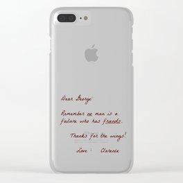 Dear George Clear iPhone Case
