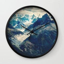 The Mountain Pass Wall Clock