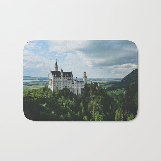 Castle dreaming Bath Mat