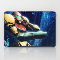 samus iPad Cases featuring Samus by Louten