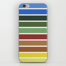 The colors of - Castle in the sky iPhone & iPod Skin