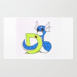 D is for Dratini Rug
