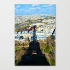 Paris : Tilt Shift Canvas Print