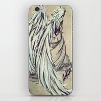 angel wings iPhone & iPod Skins featuring Angel Wings by Buttercream Art