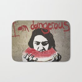 I Am Dangerous Bath Mat