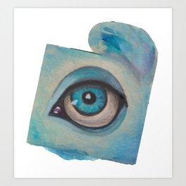all just eyes IIe Art Print