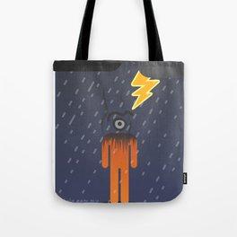 black glance Tote Bag