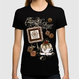 """Vintage Style """"Le Chocolatier"""" Chocolate Candy  T-shirt"""