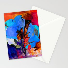 Petunia Flower Abstract PhotoArt Stationery Cards