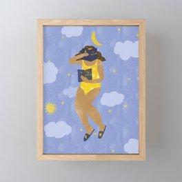 """""""Be Obsessed"""" inspired by Kat Schneider, Ritual Framed Mini Art Print"""