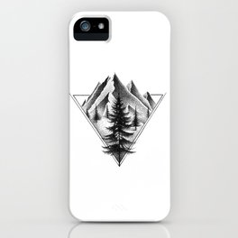 NORTHERN MOUNTAINS II iPhone Case