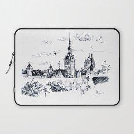 Medieval landscape. Laptop Sleeve