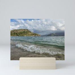 Beach at St. Kitts Mini Art Print