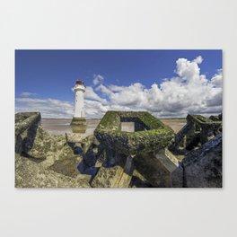 Perch Rock Lighthouse Canvas Print