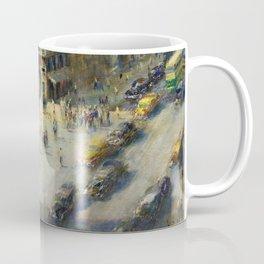 American Masterpiece 'Greenwich Village, NY' by Alfred S. Mira Coffee Mug